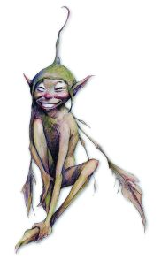 Capped fairy Brian Froud