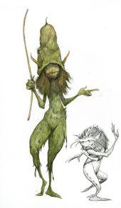 Green Froud Fairy