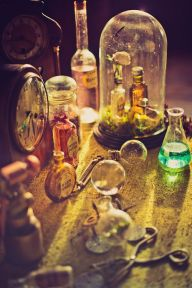 Chemistry Photography - Steampunk Bridal Shoot Wedding